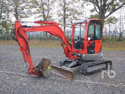 2014 JCB 8035 Mini Excavator (1 - 4.9 Tons)