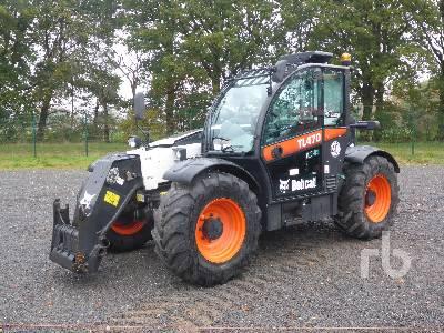 2016 BOBCAT TL470 AGRI 4x4x4 Telescopic Forklift