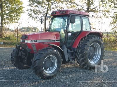 1997 CASE IH MAXXUM 5140 AV MFWD Tractor