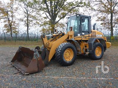 2005 CASE 521D Wheel Loader