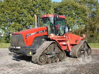 2011 CASE IH STX 535 Quadtrac Track Tractor