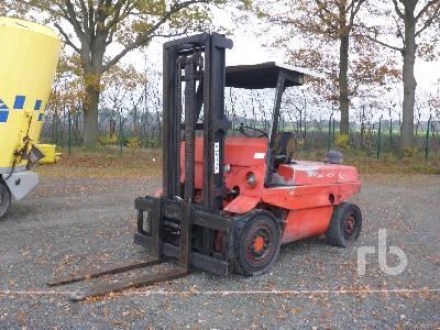 1992 LINDE H60D Forklift