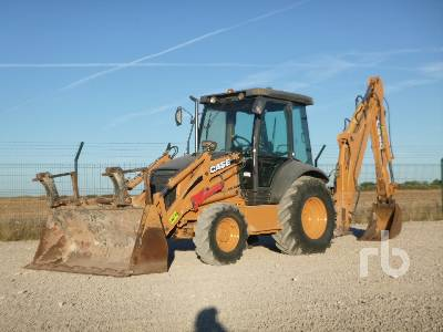 2008 CASE 580SR 4x4 Loader Backhoe