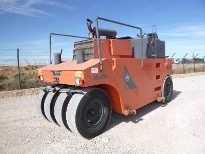 2007 HAMM GRW 18 8 Wheel Pneumatic Roller