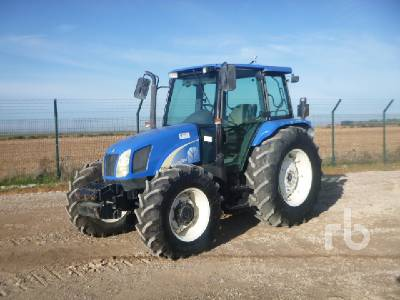 2006 NEW HOLLAND TL100A 4WD MFWD Tractor