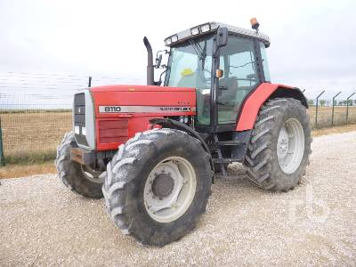 1996 MASSEY FERGUSON MF 8110 4WD MFWD Tractor