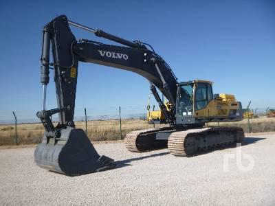 2012 VOLVO EC480DL Hydraulic Excavator
