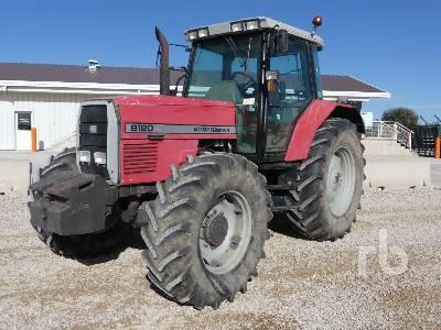 1997 MASSEY FERGUSON 8120 4WD MFWD Tractor