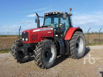 2004 MASSEY FERGUSON 6495 4WD MFWD Tractor