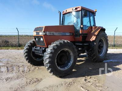 1991 CASE 7110 4WD MFWD Tractor