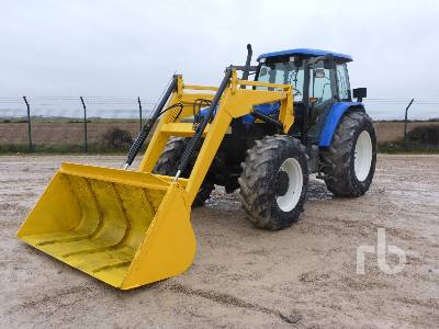 2003 NEW HOLLAND TM155 4WD MFWD Tractor
