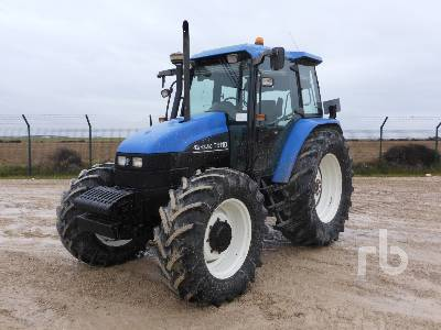2003 NEW HOLLAND TS110 4WD MFWD Tractor