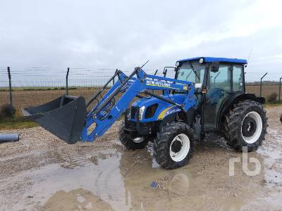 2013 NEW HOLLAND T4040 4WD MFWD Tractor