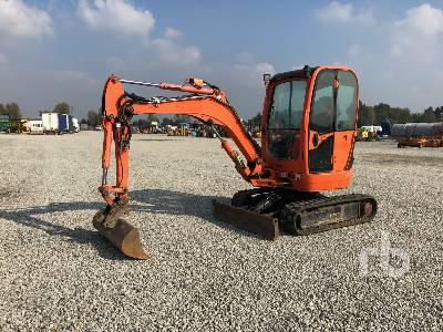 2012 JCB 8035ZTS Mini Excavator (1 - 4.9 Tons)