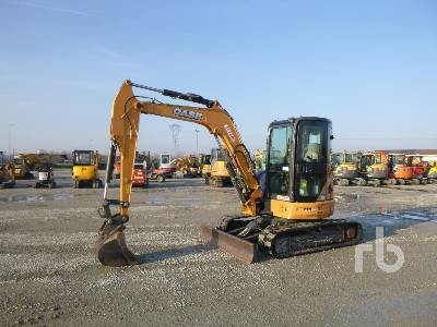2016 CASE CX50B Mini Excavator (1 - 4.9 Tons)