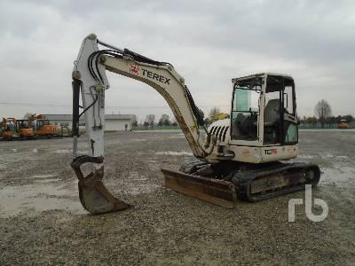 2010 TEREX TC75 Midi Excavator (5 - 9.9 Tons)