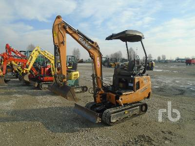 2012 CASE CX15B Mini Excavator (1 - 4.9 Tons)
