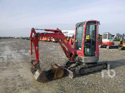 2010 YANMAR VIO20-3 Mini Excavator (1 - 4.9 Tons)