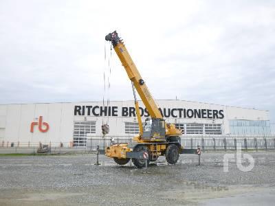 2013 LOCATELLI GRIL8300T 30 Ton 4x4x4 Rough Terrain Crane