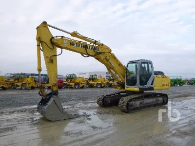 2007 NEW HOLLAND E245B Hydraulic Excavator