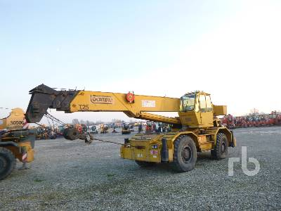 1980 LOCATELLI 25CG 25 Ton Rough Terrain Crane