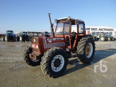 1987 FIAT 100/90 4WD MFWD Tractor