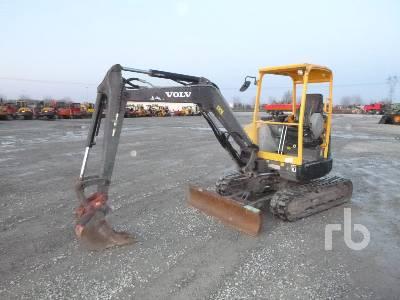 2013 VOLVO ECR38 Mini Excavator (1 - 4.9 Tons)