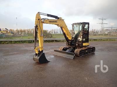 2017 YANMAR VIO57-6A Midi Excavator (5 - 9.9 Tons)