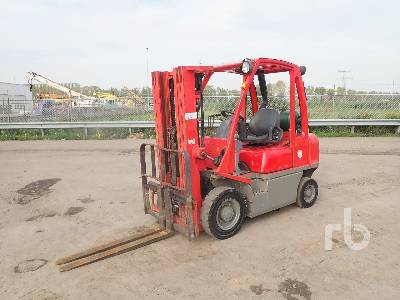 2007 NISSAN UD02A25PQ Forklift