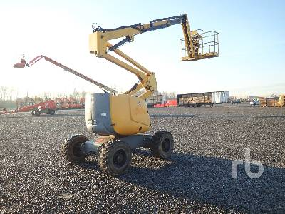 2008 HAULOTTE HA16SPX 4x4 Articulated Boom Lift