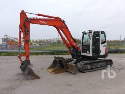 2008 KUBOTA KX080-3 Midi Excavator (5 - 9.9 Tons)