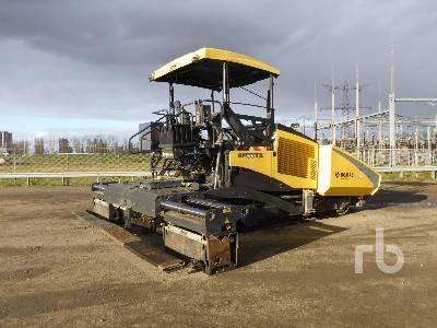 2016 BOMAG BF800C Crawler Asphalt Paver
