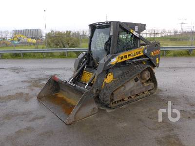 2008 NEW HOLLAND C175 Compact Track Loader
