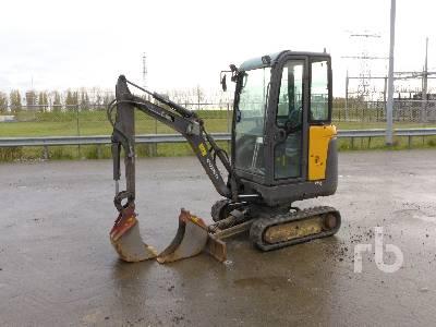 2012 VOLVO EC18C Mini Excavator (1 - 4.9 Tons)