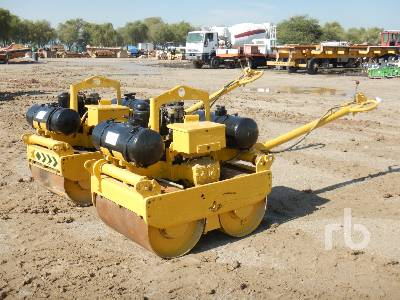 BOMAG BW75S-2 Qty of 2 Tandem Smooth Drum Walk Behind Roller