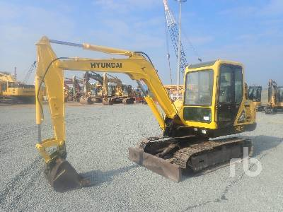 HYUNDAI R55-7 Midi Excavator (5 - 9.9 Tons)