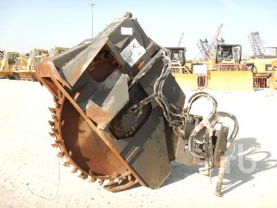 BOBCAT WS24 Hydraulic Rock Wheel Saw Skid Steer Attachment - Other