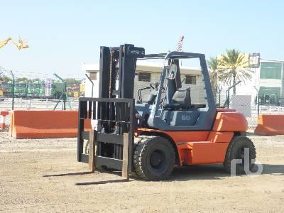 2004 TOYOTA 5FG60 6 Ton Forklift