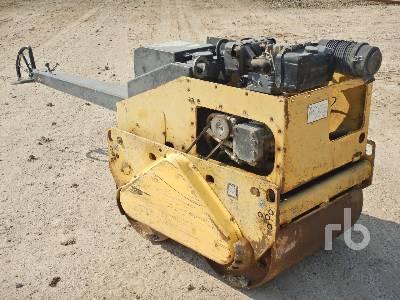 2012 BOMAG BW75H Tandem Vibratory Smooth Drum Walk Behind Compactor