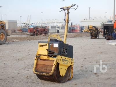 BOMAG BW71E-2 Vibratory Single Drum Smooth Walk Behind Roller