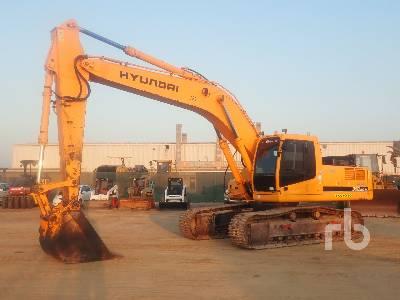 2008 HYUNDAI ROBEX 320NLC-7A Hydraulic Excavator