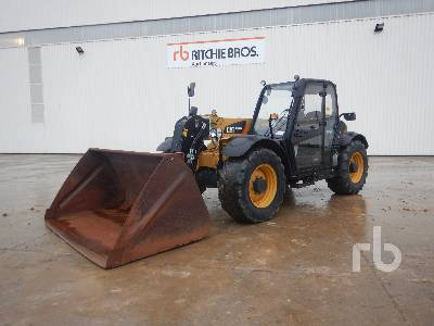 2013 CATERPILLAR TH337C AG 3300 Kg 4x4x4 Telescopic Forklift