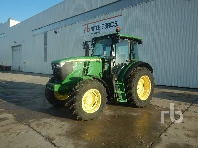 2014 JOHN DEERE 6090MC 4WD Agricultural Tractor MFWD Tractor