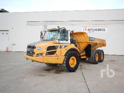 2012 VOLVO A30F 6x6 Articulated Dump Truck