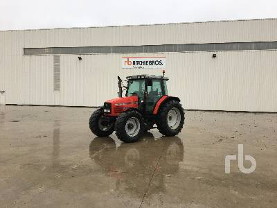 1999 MASSEY FERGUSON 6265 4WD Agricultural Tractor MFWD Tractor