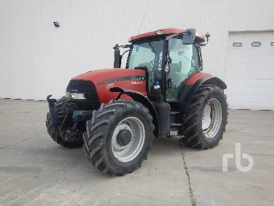 2007 CASE IH MXU125 4WD Agricultural Tractor MFWD Tractor