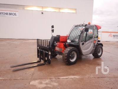 2016 MANITOU MT625H COMFORT 2500 Kg 4x4x4 Telescopic Forklift
