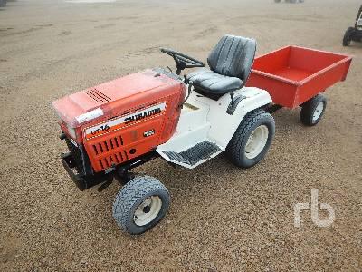 SHIBAURA GT16 2WD Utility Tractor
