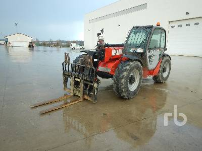 2017 MANITOU MT932 EASY 75D 3200 Kg 4x4x4 Telescopic Forklift