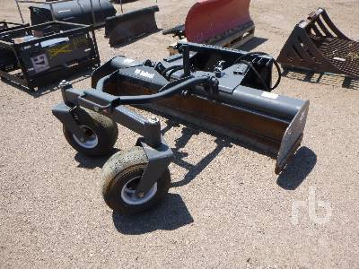 BOBCAT 84 In  Hydraulic Grader Skid Steer Attachment - Other